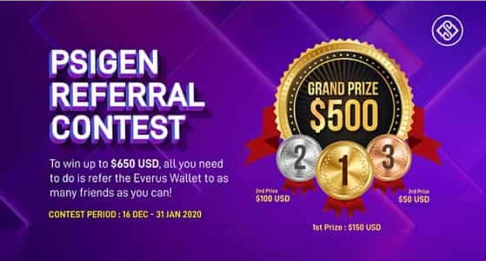 Run a referral giveaway contest