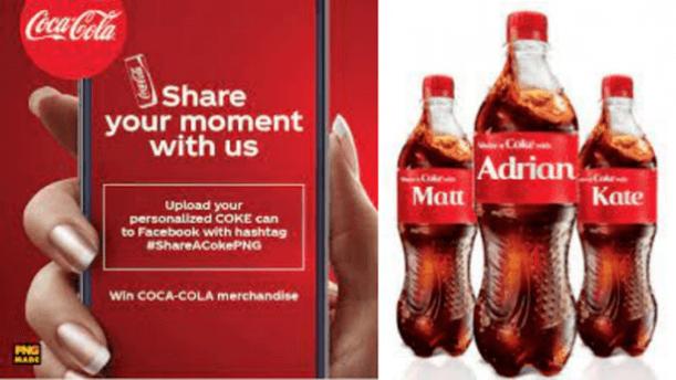 user generated content coke cola campaign