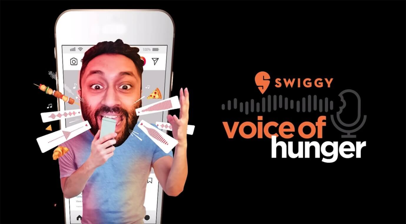 user generated content swiggy voice of hunger campaign