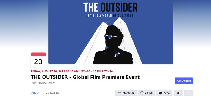 Facebook-paid-film-premiere-the-outsider