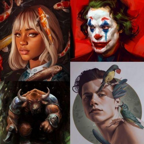 Design trend in focus for 2021 - Digital painting