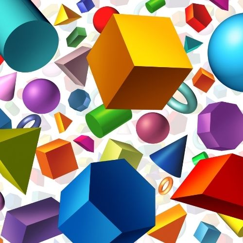 Geometric shapes design trend