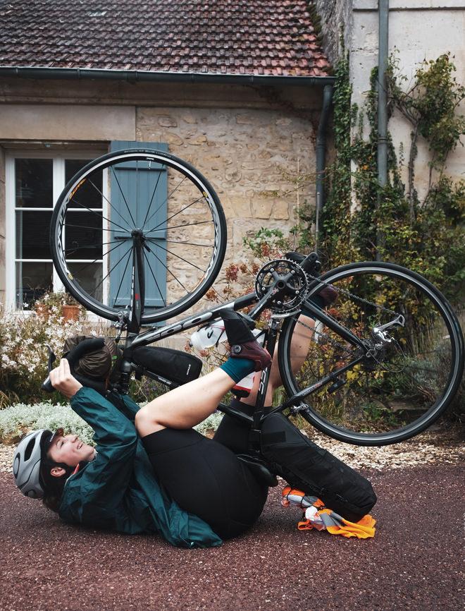Upside bike