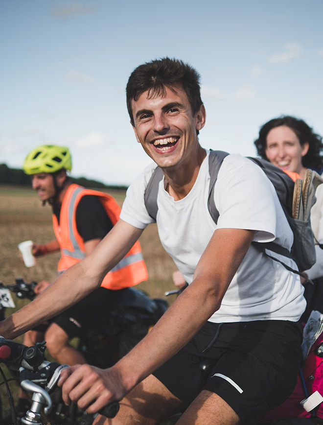 Morvan - vélo - participant youpi