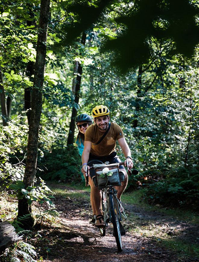 morvan - vélo - tandem sur les petits chemins