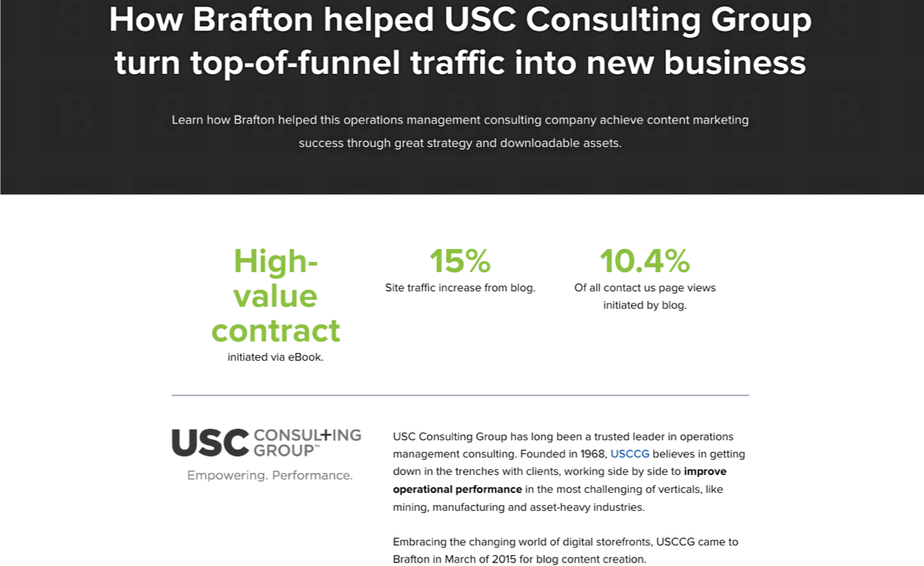 USC Consulting Group