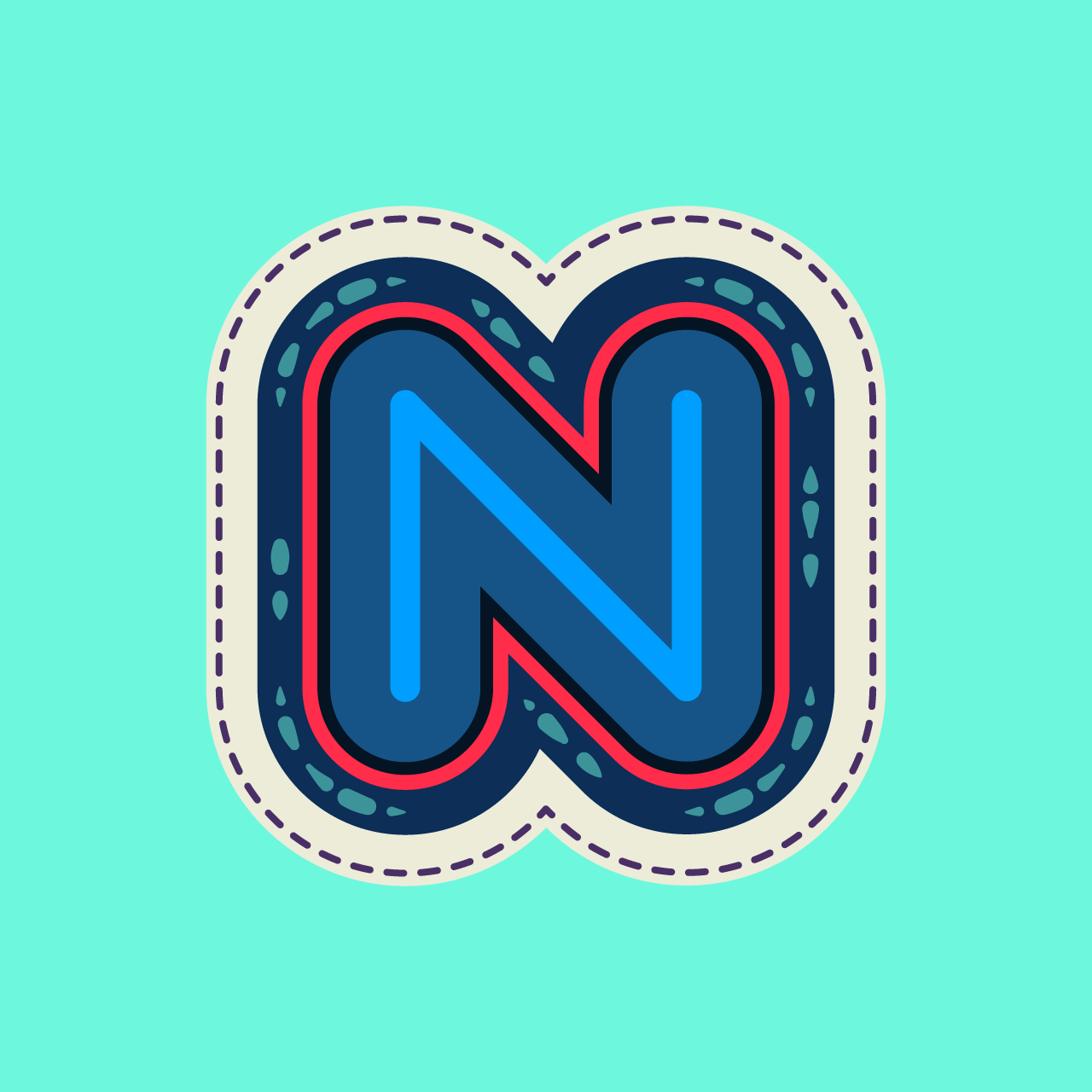 My N submission for 36 Days of Type