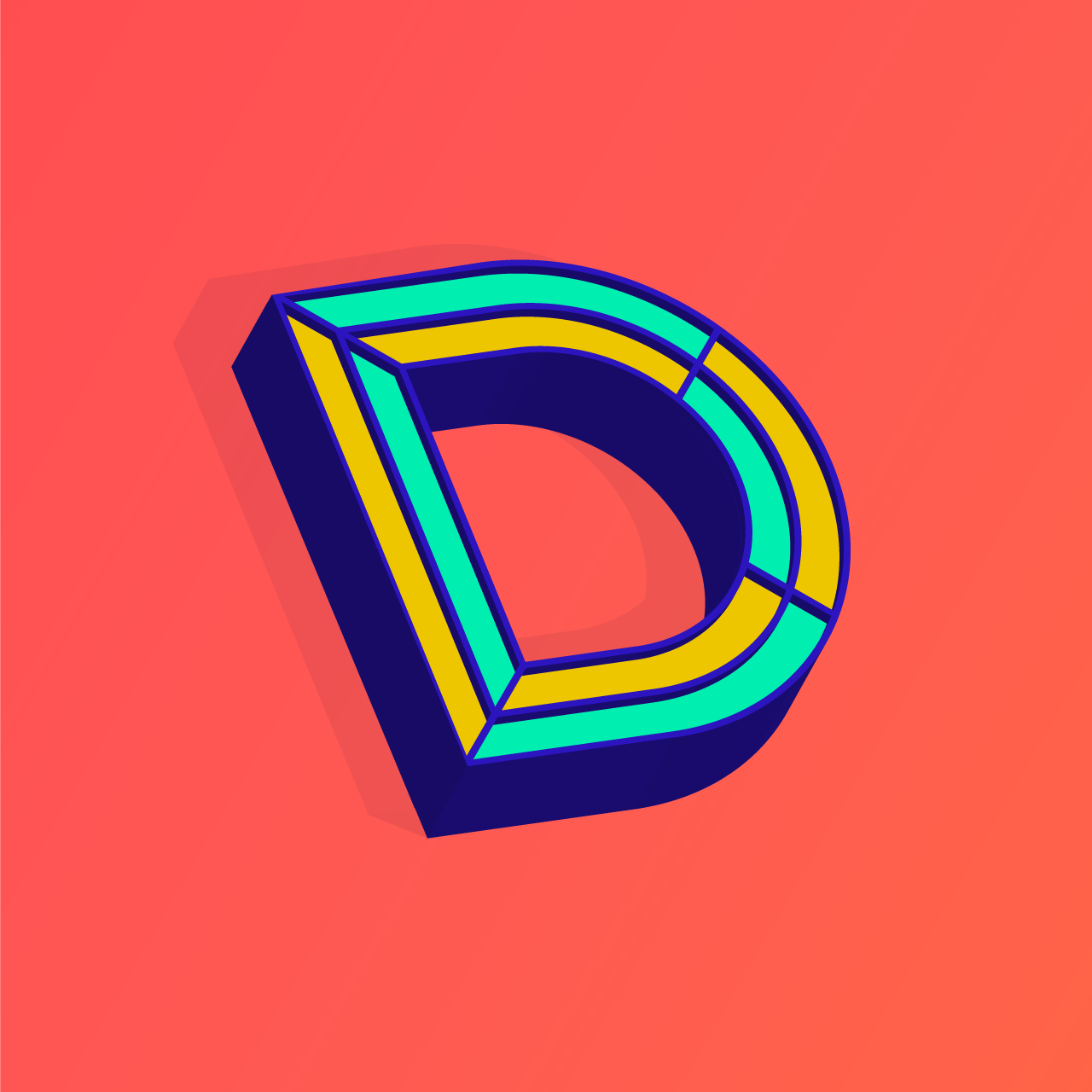 My D submission for 36 Days of Type