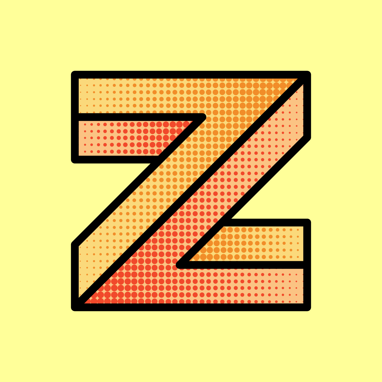 My Z submission for 36 Days of Type