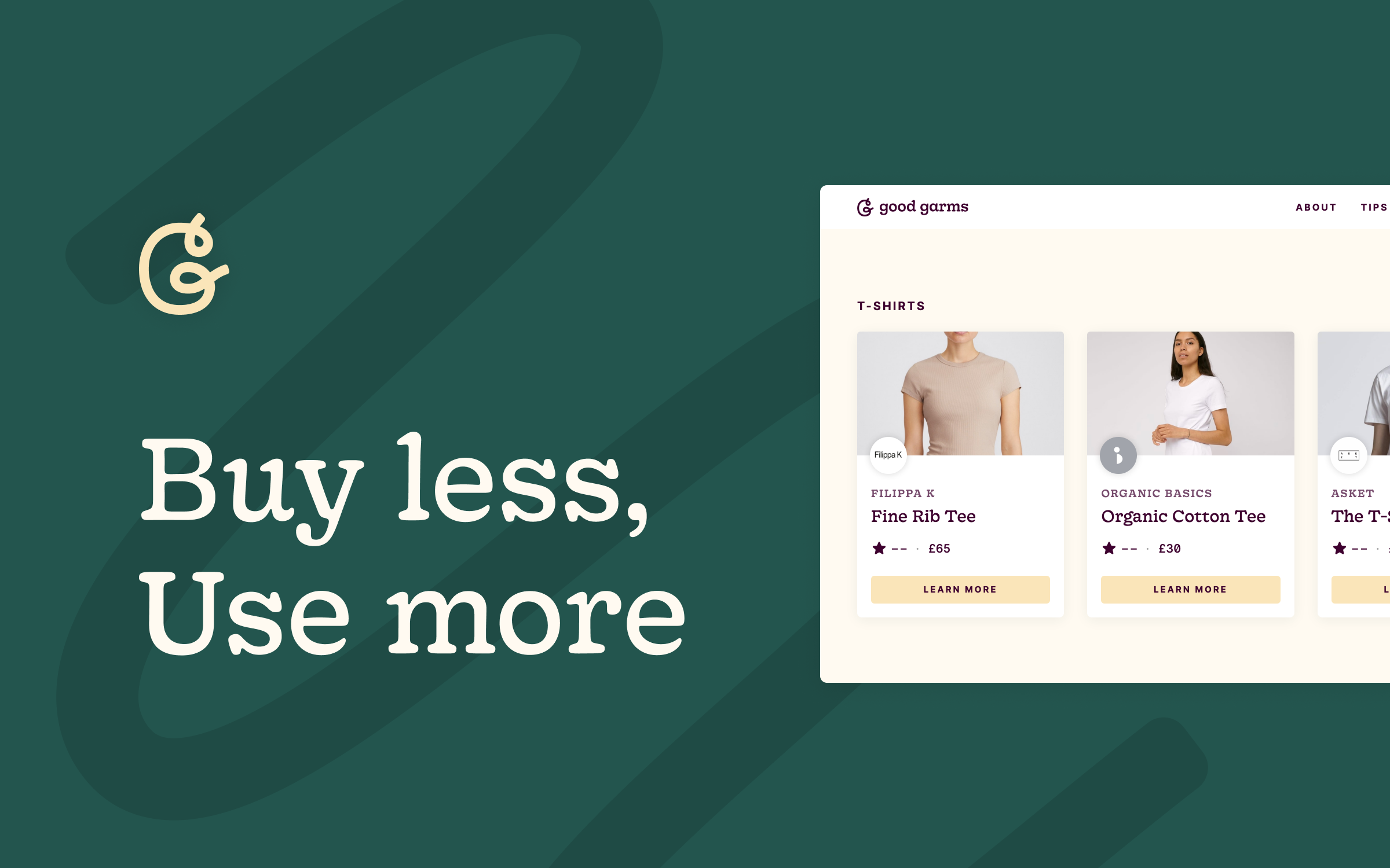 Good Garms:Buy less by knowing more