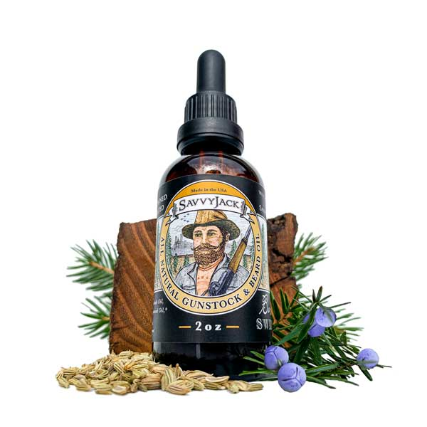 SavvyJack Sweetwood Beard Oil