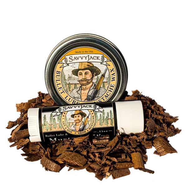 SavvyJack Mustache Wax - Tin and Tube