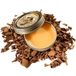 Savvy Jack strong hold, all natural mustache wax. 1 oz tin