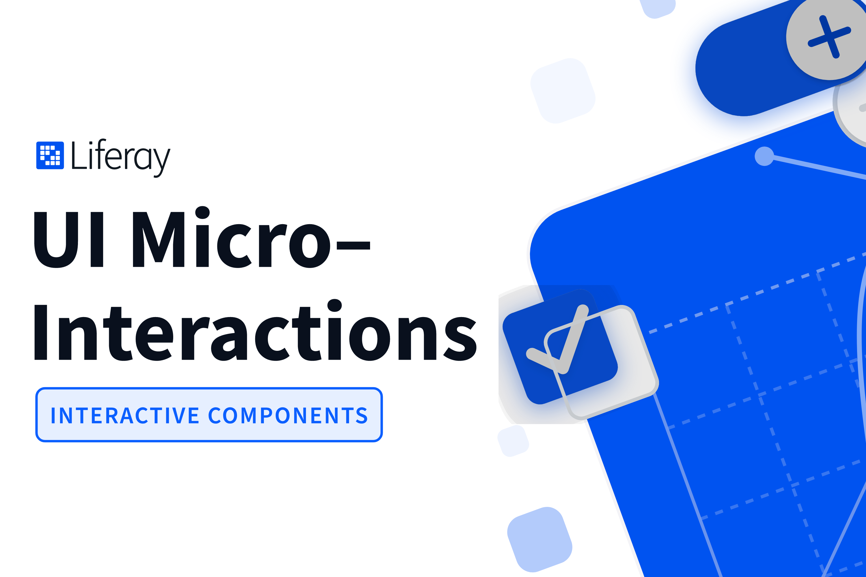 UI Micro Interactions