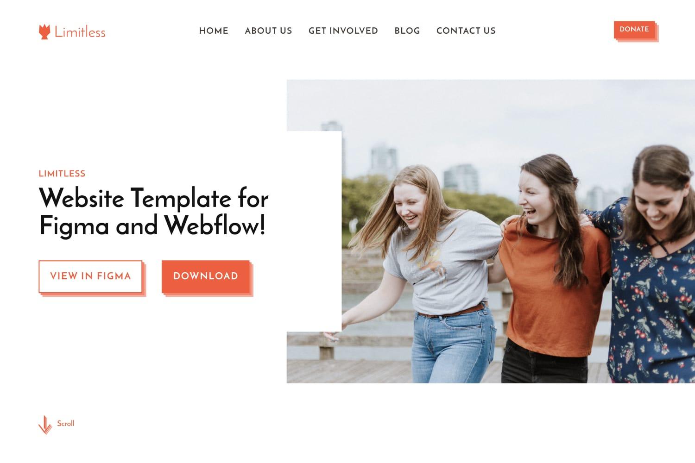 Limitless Template Design File