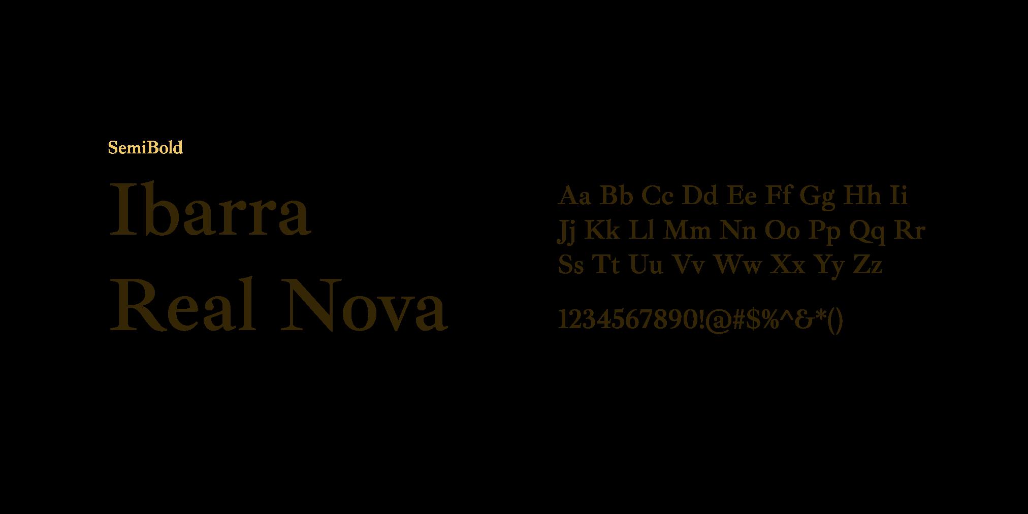 Ibarra Real Nova