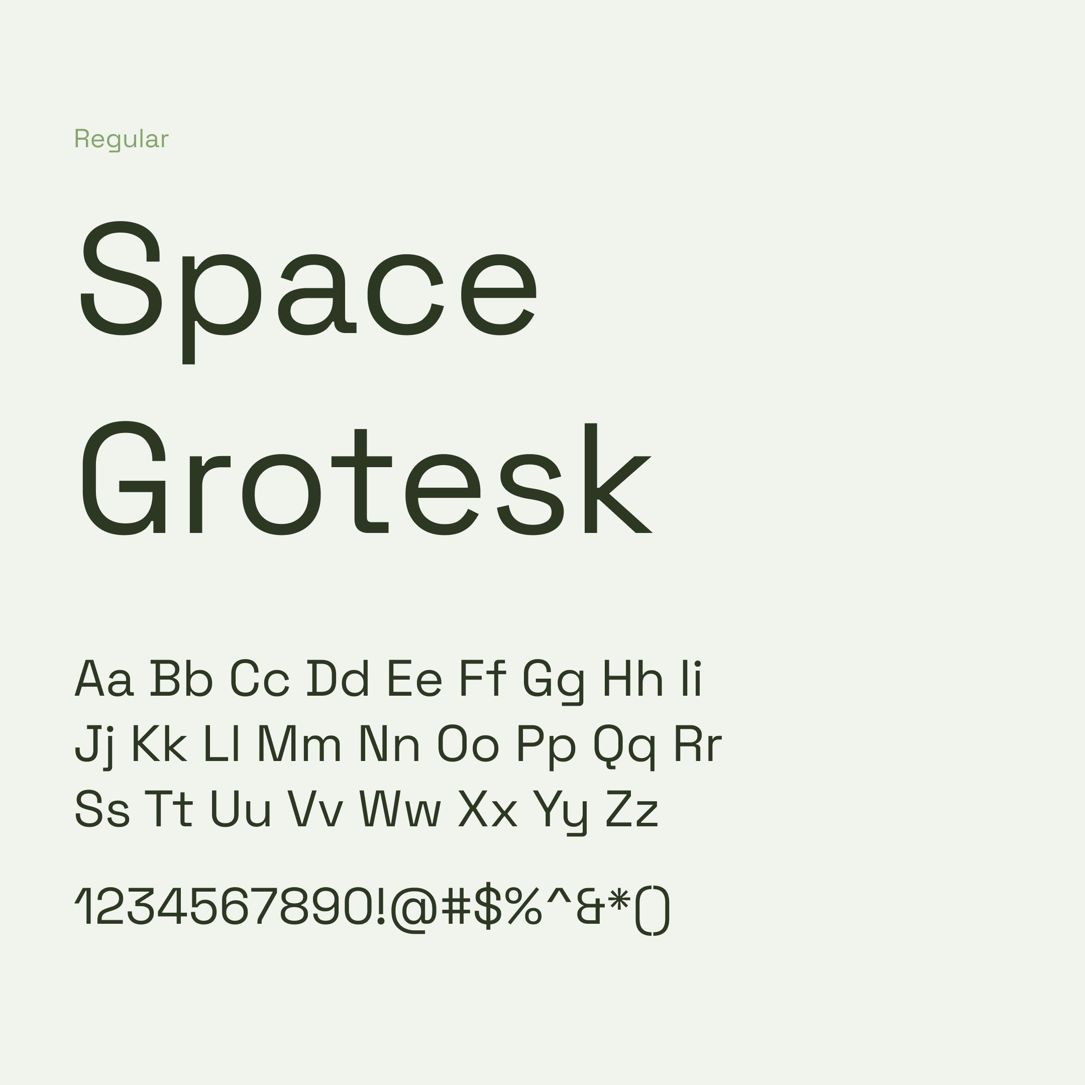 Space Grotesk