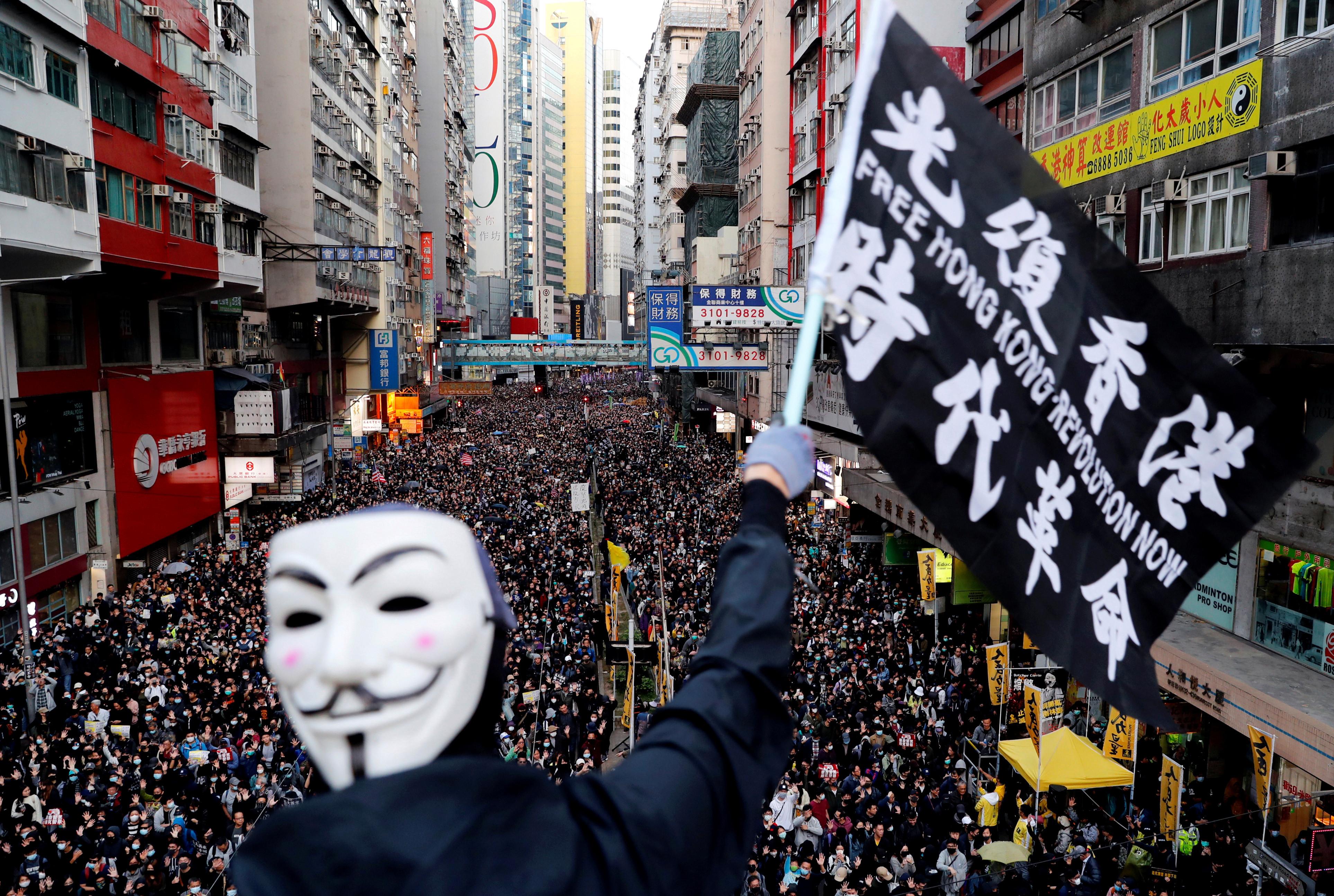 Image of Hong Kong protest
