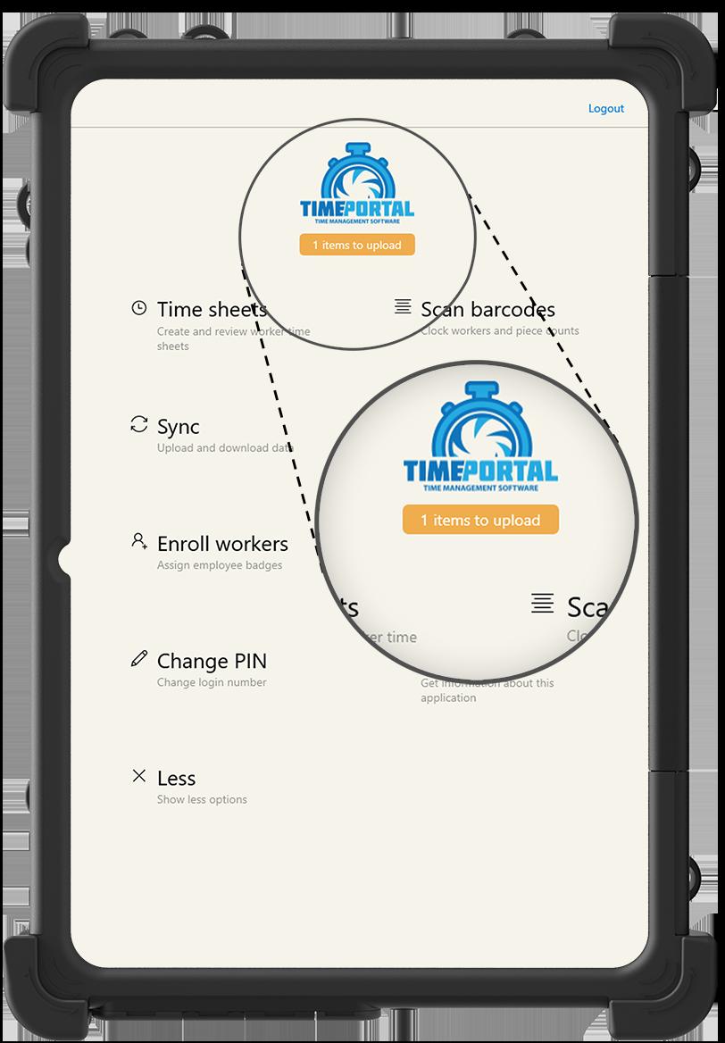 Offline Data Storage - Best Time Clock App for Farmers - HarvestPay - H2A Visa Program
