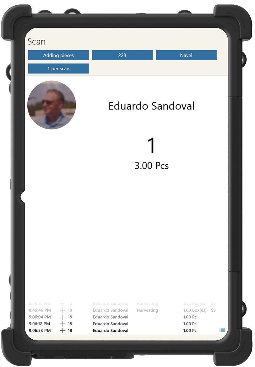 RFID Scanning - Best Time Clock App for Farmers - Time Tracking App - HarvestPay - H2A Visa Program
