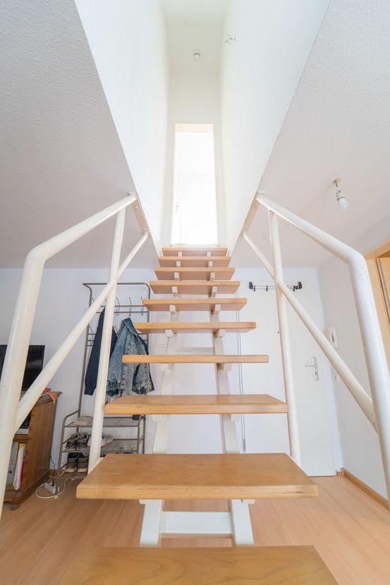 Treppenaufgang DG/Emporengeschoss