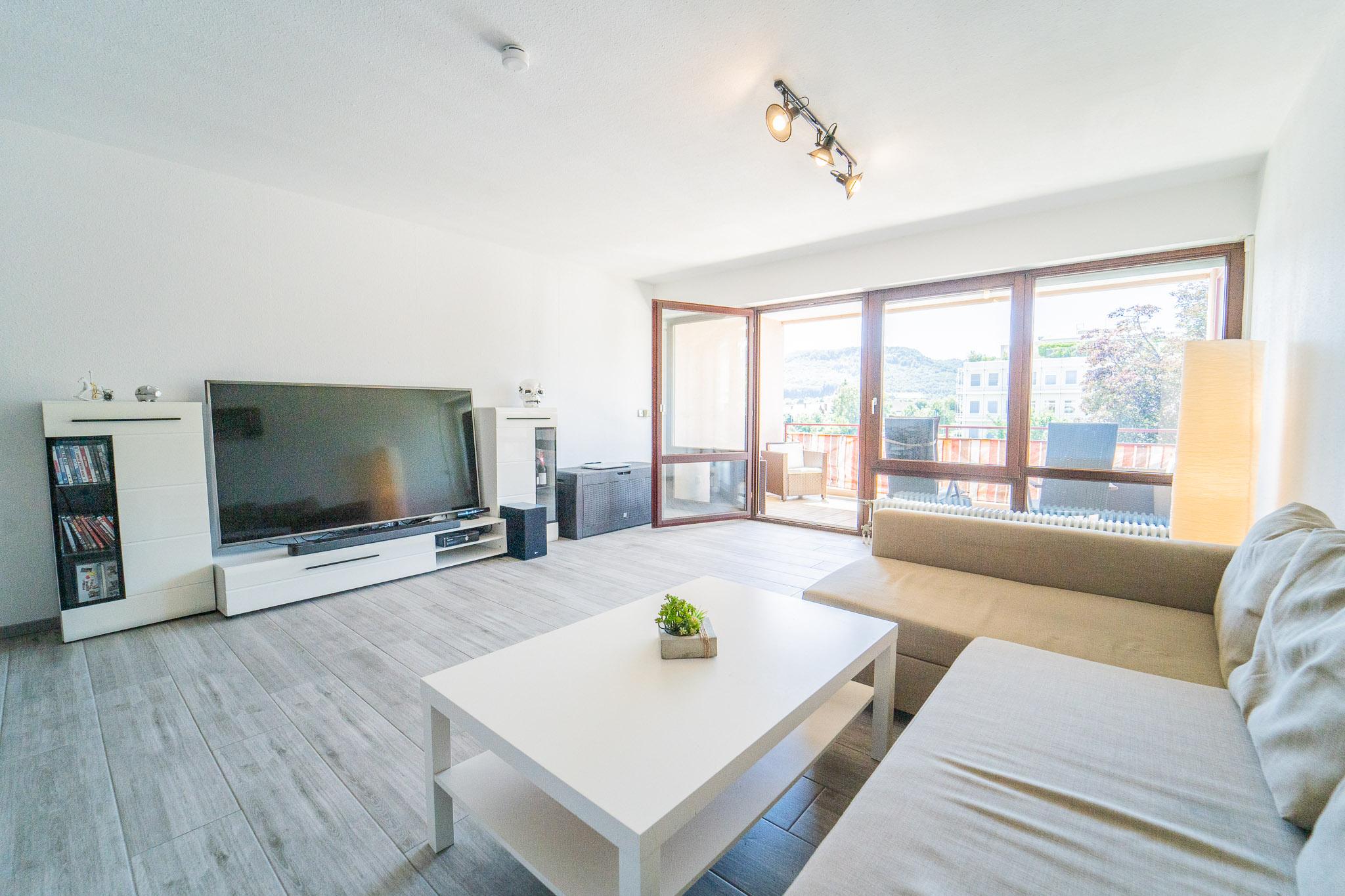 Solide Kapitalanlage! 1,5 Zi. Eigentumswohnung mit Loggia und Tiefgarage im Herzen von Bad Säckingen
