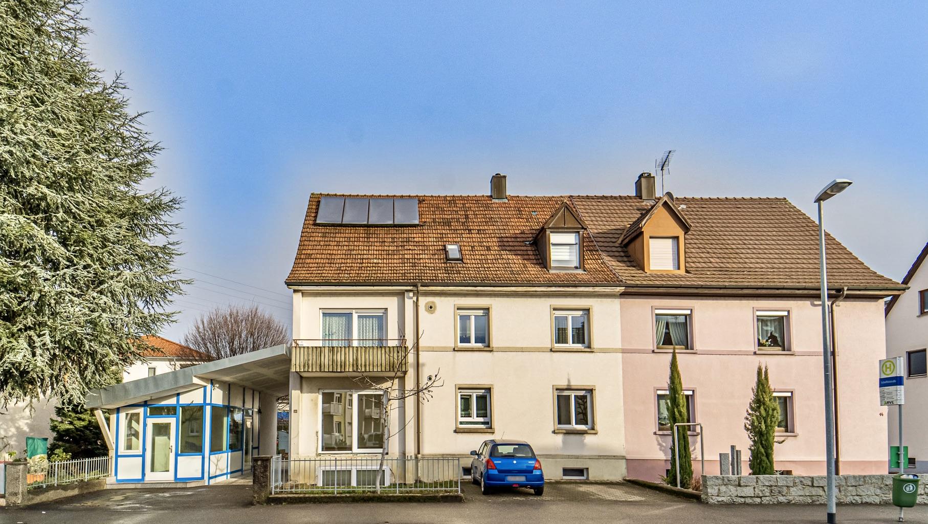 3-Familien-Haus mit separatem Gewerberaum! Viel Potential mit Garten und Stellplätzen in Rheinfelden