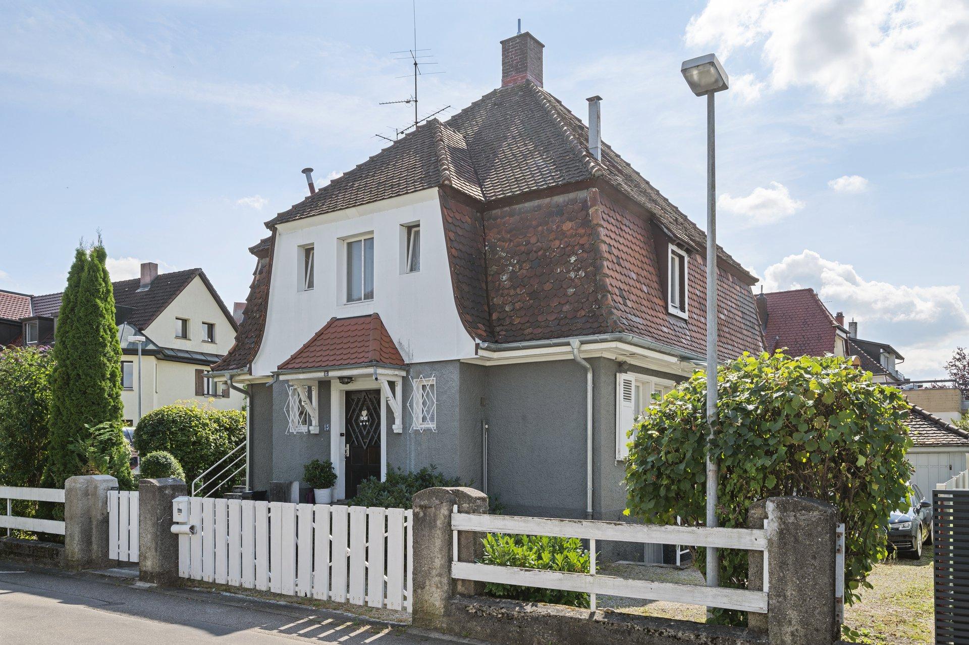 Charmante Stadtvilla mit schönem Grundstück in ruhiger Citylage in Rheinfelden