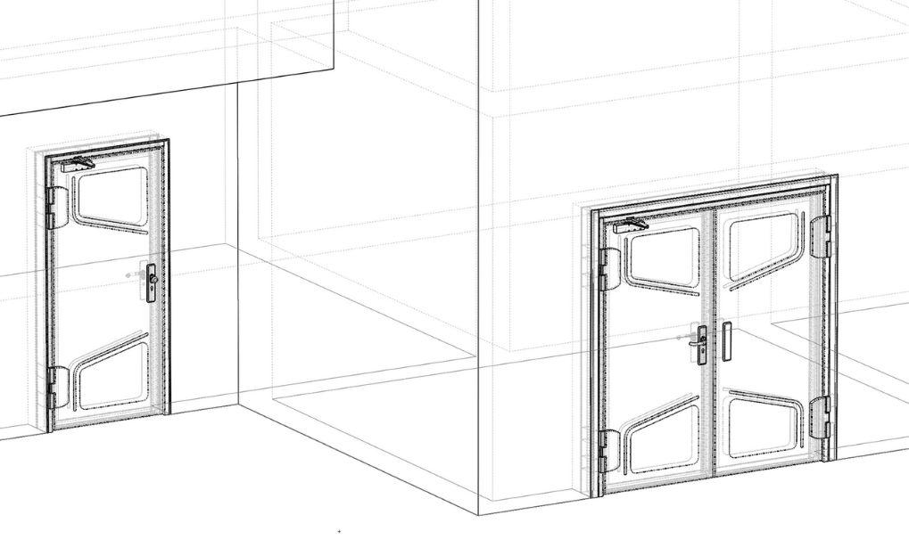 Porte technique modulaire AGIL Baumert destinée au secteur bancaire : pack banque
