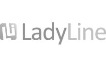 LadyLine naisten kuntosali logo