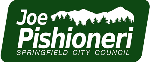 joe pishioneri springfield city council logo