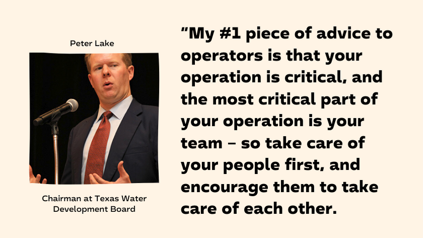 Peter Lake - Texas Water Board Chairman