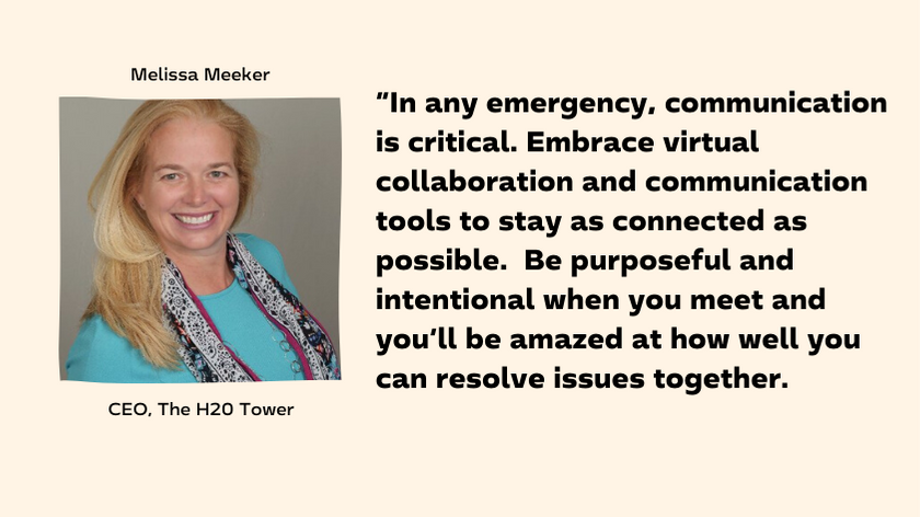 Melissa Meeker, CEO The H20 Tower