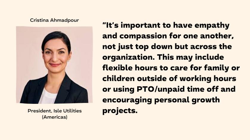 Cristina Ahmadpour - Isle Utilities President