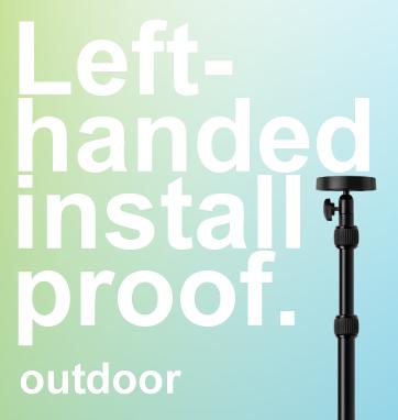 Outdoor Left Handed