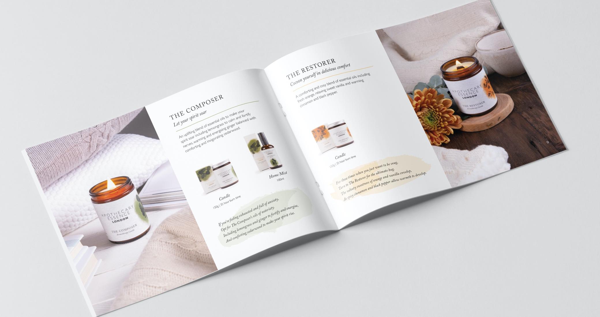 Apothecary Essence brochure
