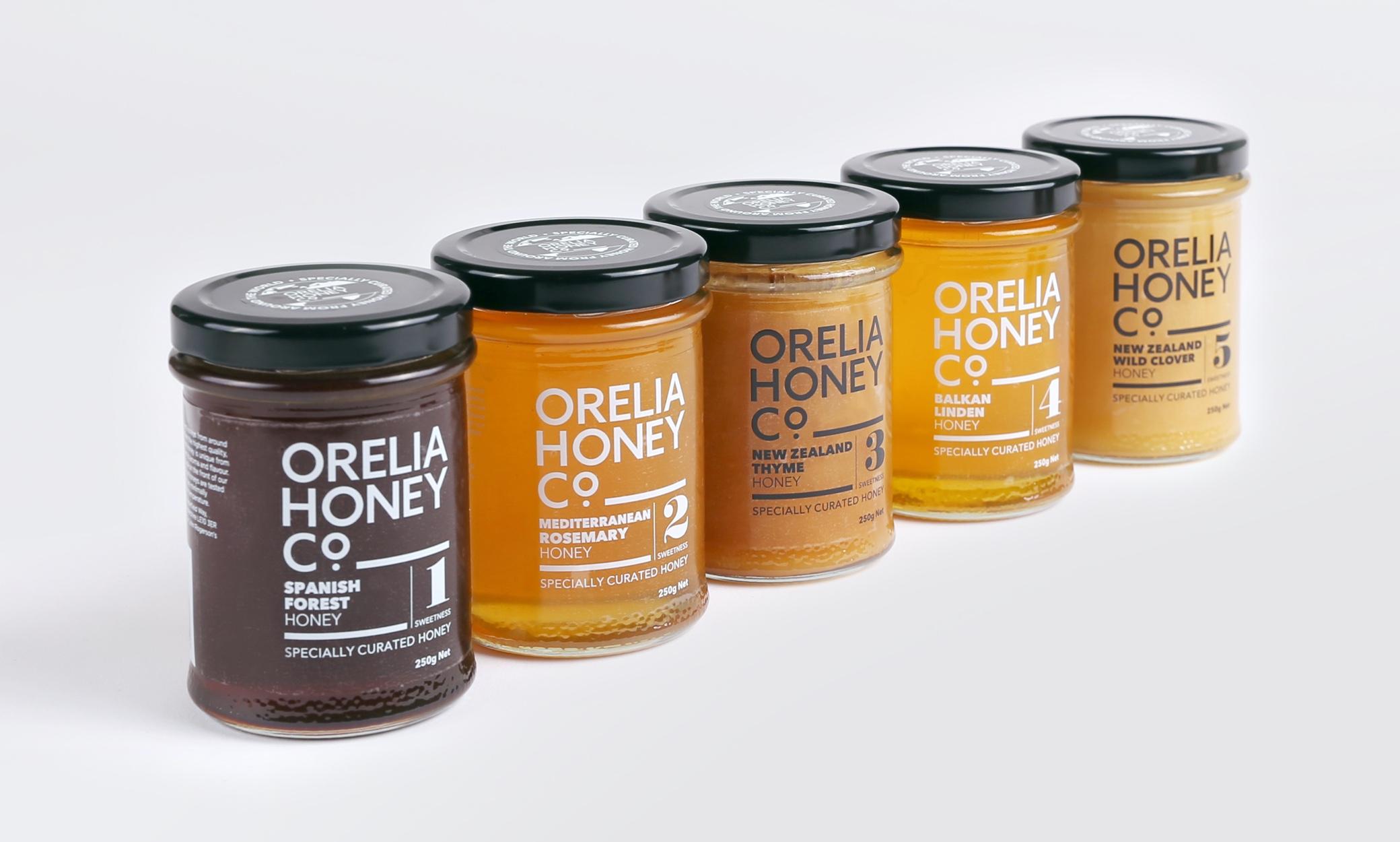 Orelia Honey Range