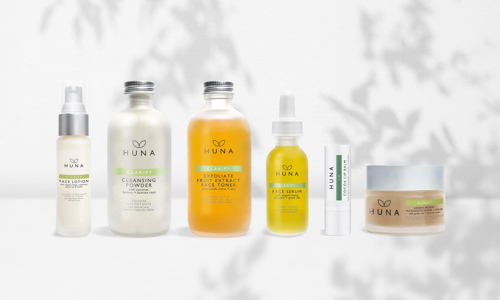 Huna Skin packaging