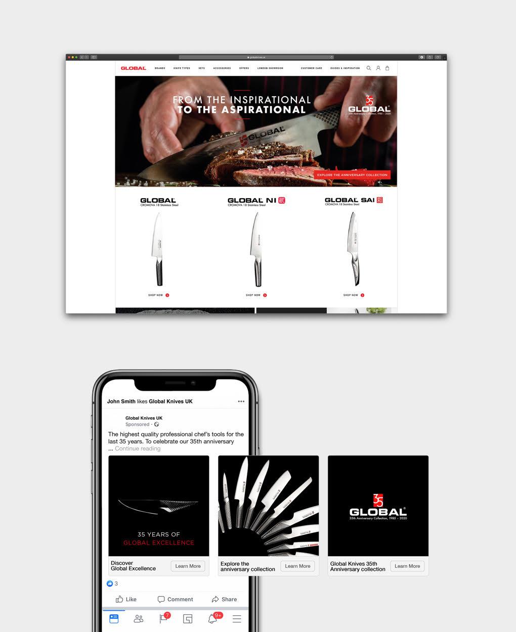 Global Digital Advertising Concept