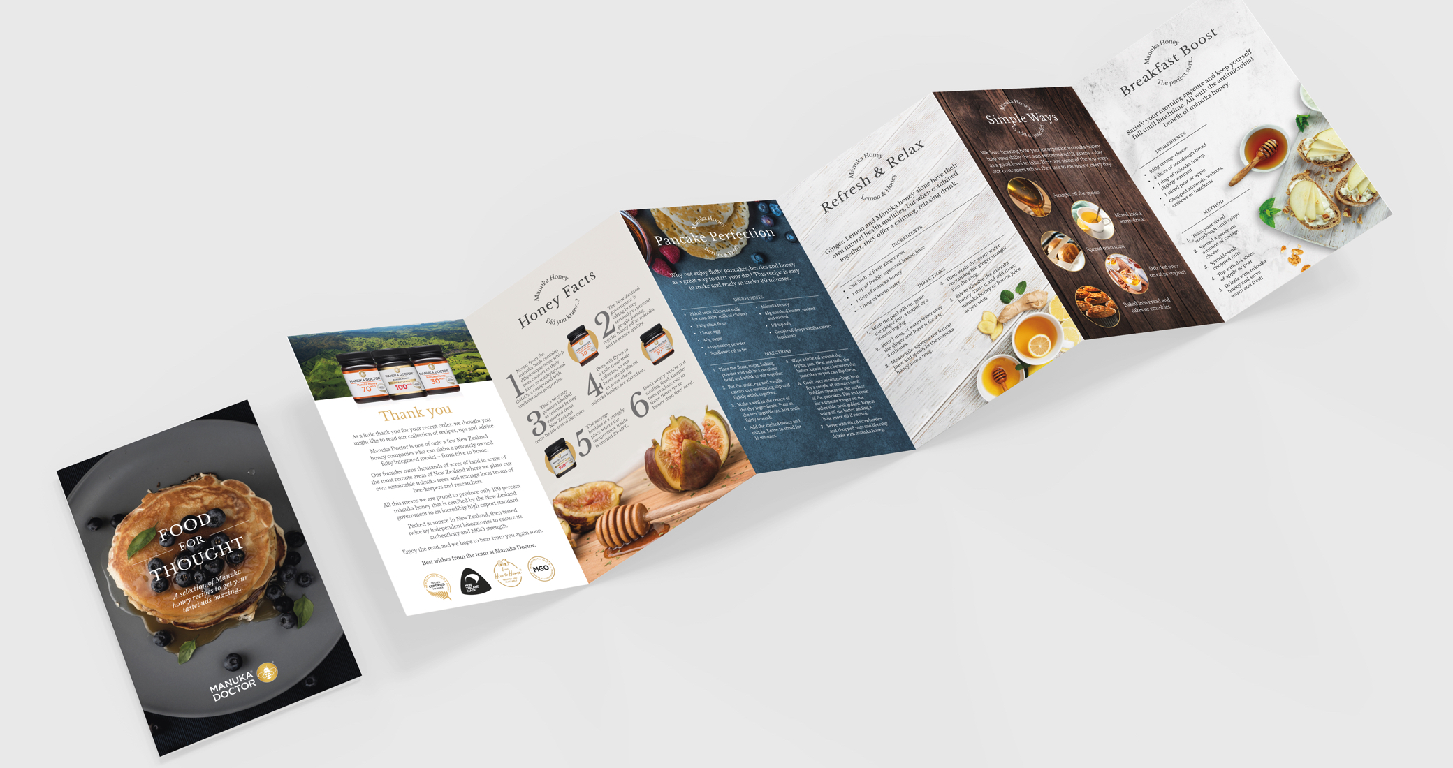 Manuka Doctor Printed Brochure