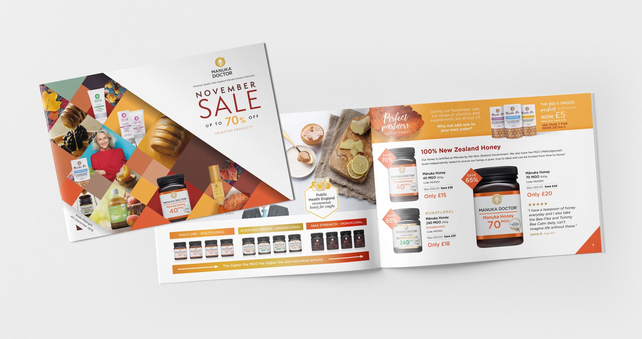Manuka Doctor Promotional Brochure