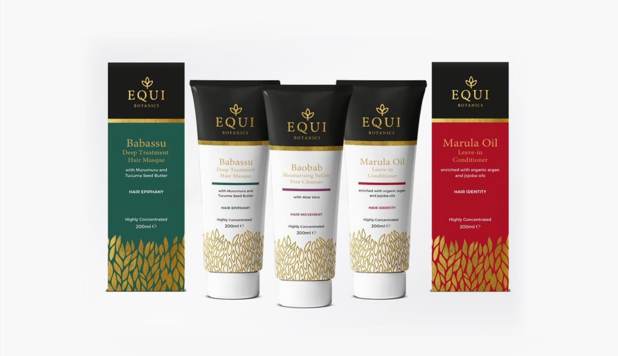 EQUI Botanics Branding