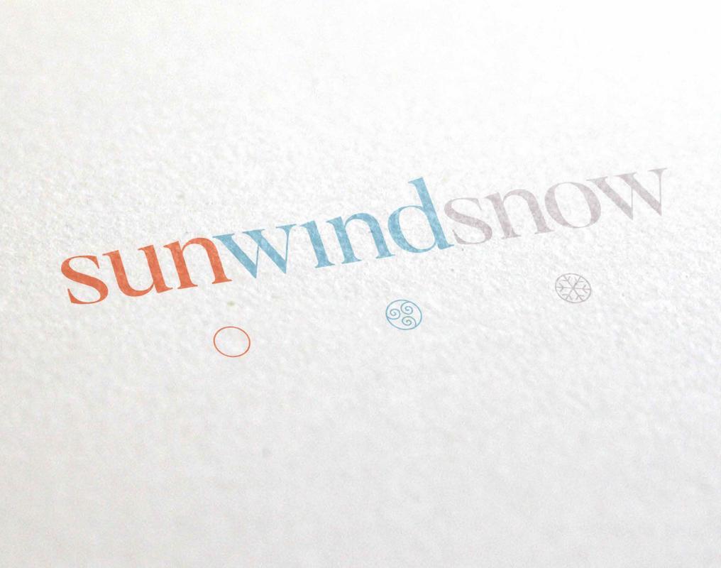 Sun Wind Snow Branding