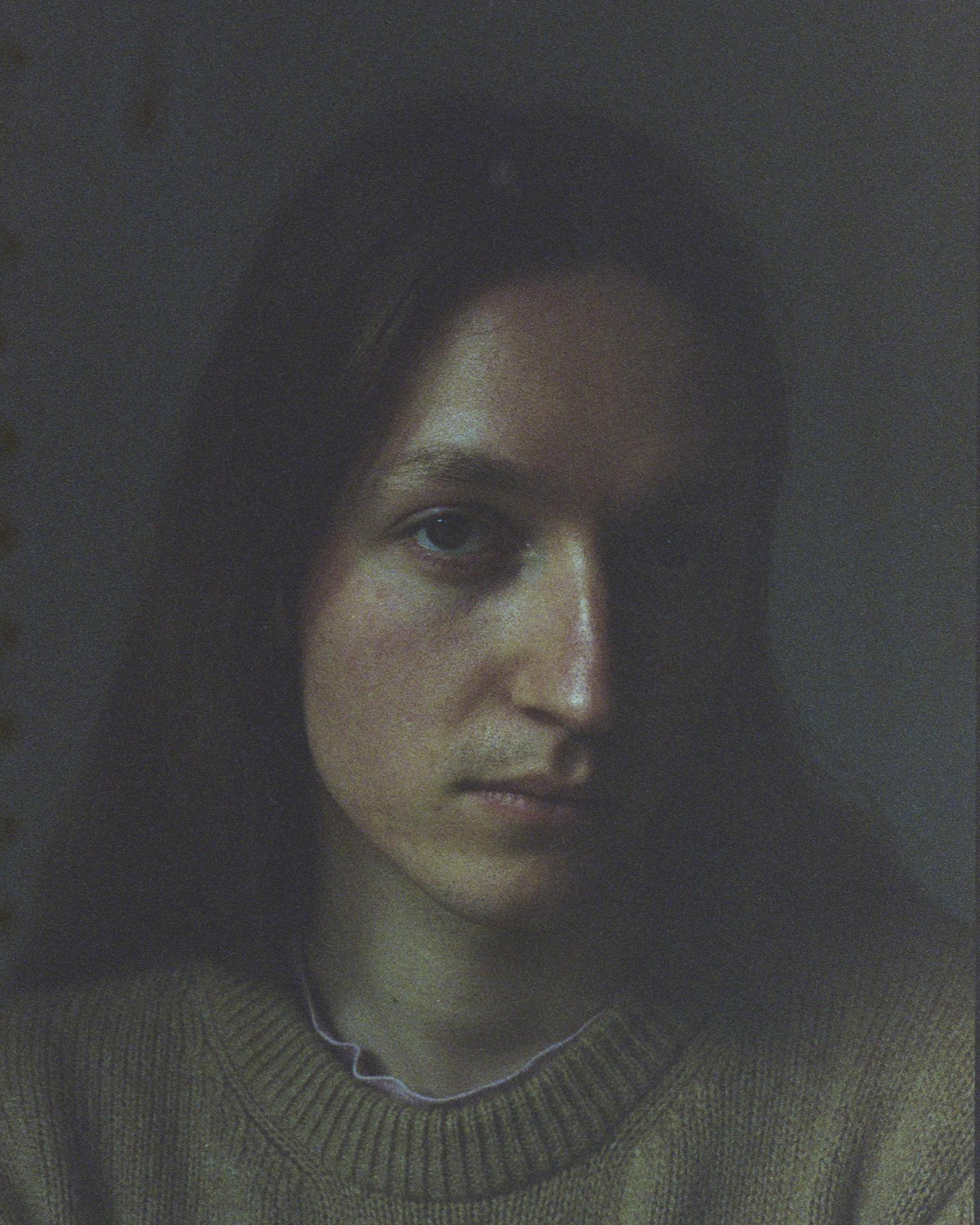 Altes Portrait mit spezieller Bildbearbeitung