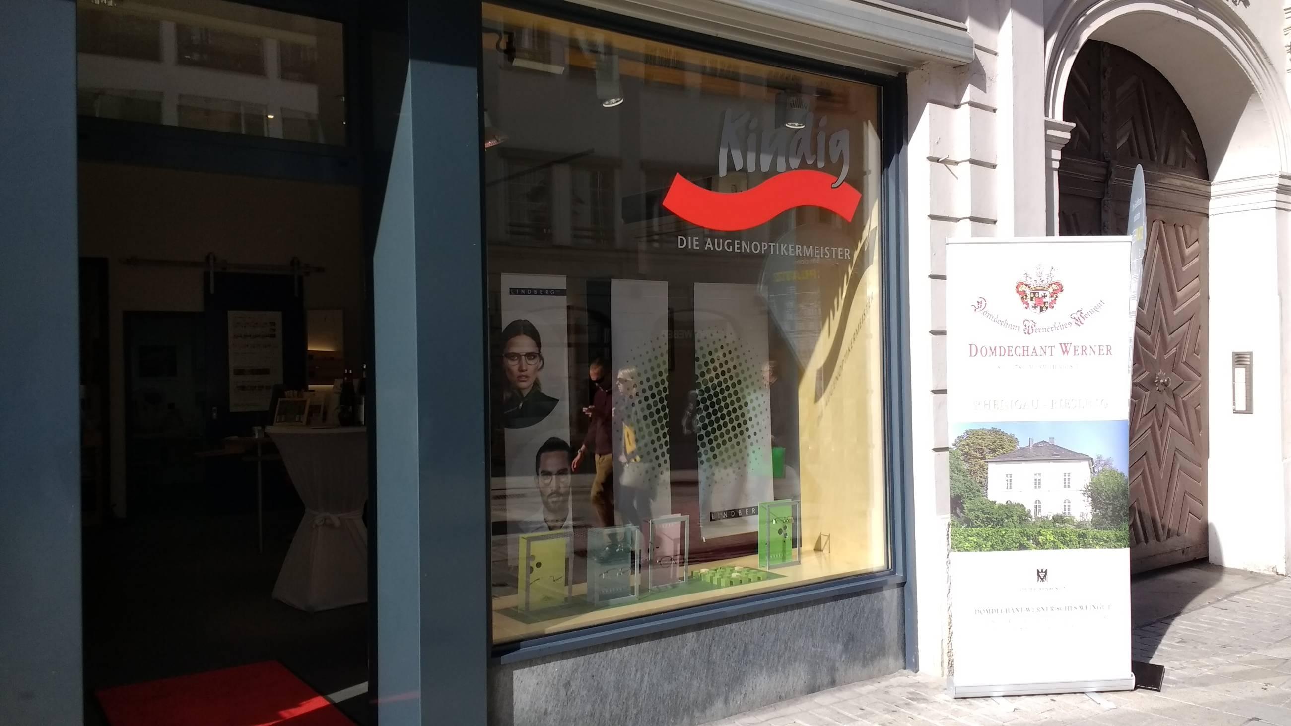 Kindig - Die Augenoptikermeister, seit 25 Jahren die Adresse für gutes Sehen im Herzen von Augsburg