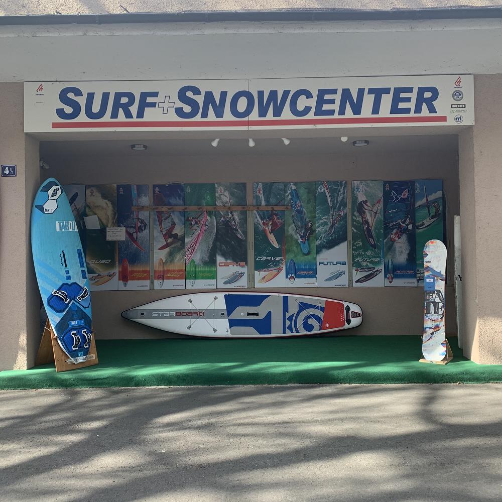 Windsurf-, Kitesurf-, Stand-Up-Paddling- & Snowboardshop