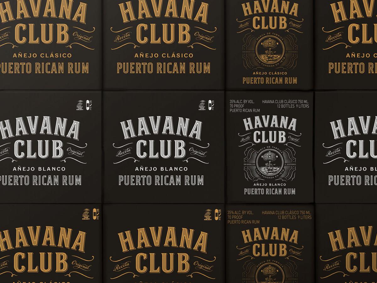 Havana Club shipping container design
