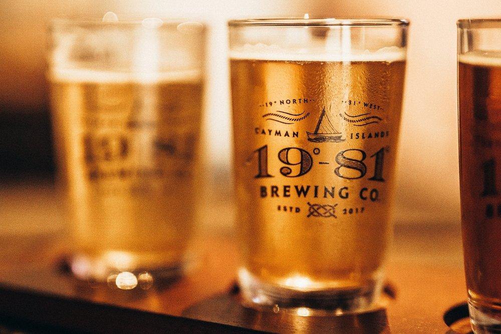 19-81 Brewing Co. Beer design