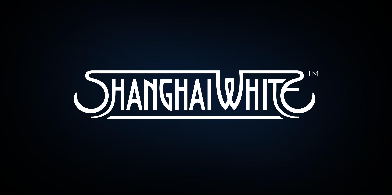 Shanghai White Vodka typography design, communication arts
