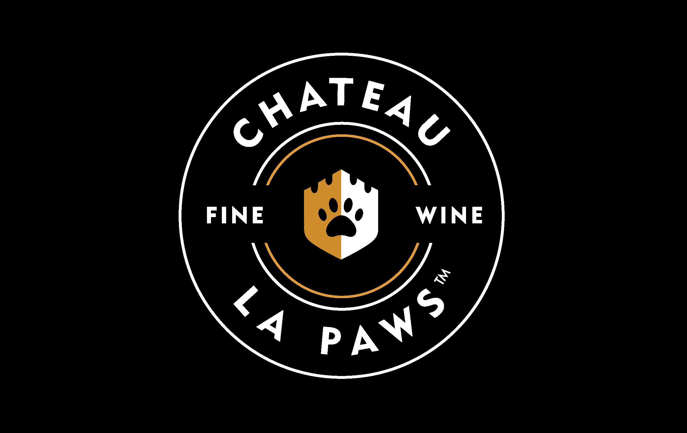 Chateau La Paws Logo design